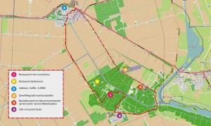 wandelen en fietsen nabij WSVkraggenburg